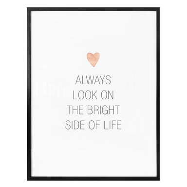 Poster Confetti & Cream - Always look on the bright side of life