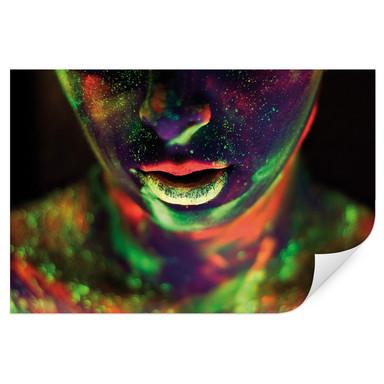Wallprint Kokdemir - In Farbe getaucht