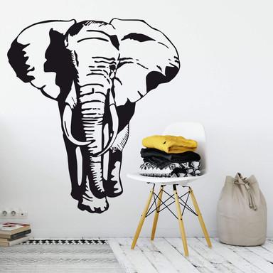 Wandtattoo Afrikanischer Elefant