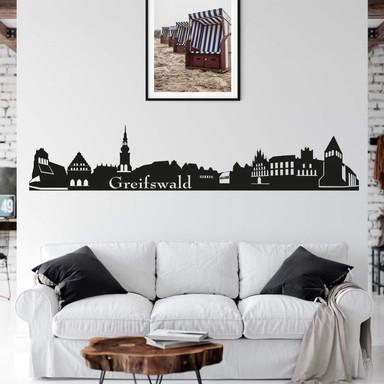 Wandtattoo Greifswald Skyline