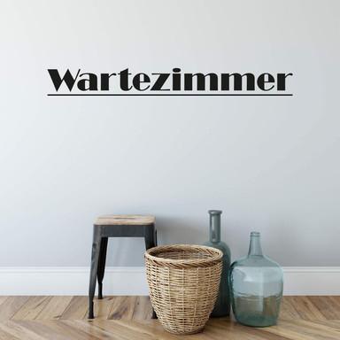 Wandtattoo Wartezimmer 1