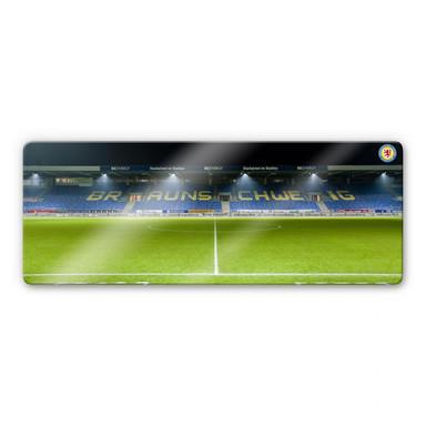 Glasbild Eintracht Braunschweig Tribüne Panorama