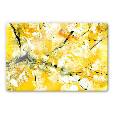 Glasbild Niksic - Blütezeit