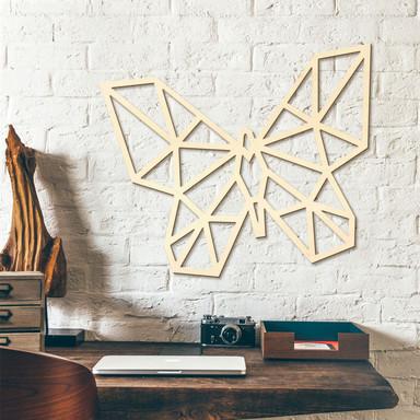 Holzkunst Pappel - Origami Schmetterling
