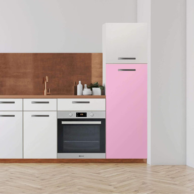 Klebefolie - Hochschrank (60x140cm) - Pink Light- Bild 1