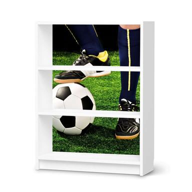 Möbelfolie IKEA Billy Regal 3 Fächer - Fussballstar