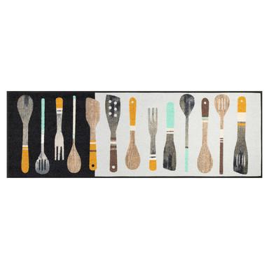 Wash&Dry Fussmatte Cooking Tools 60x180cm