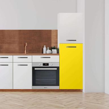 Klebefolie - Hochschrank (60x120cm) - Gelb Dark- Bild 1