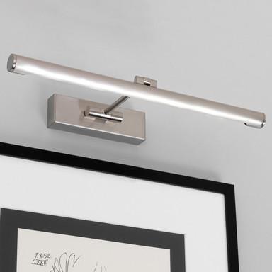 LED Bilderleuchte Goya in Nickel-Gebürstet 7.1W 821lm 460mm