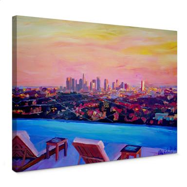 Leinwandbild Bleichner - Los Angeles