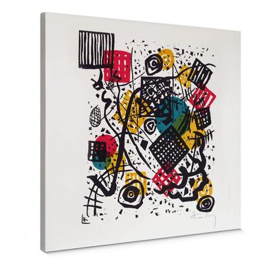 Leinwandbild Kandinsky - Kleine Welten V