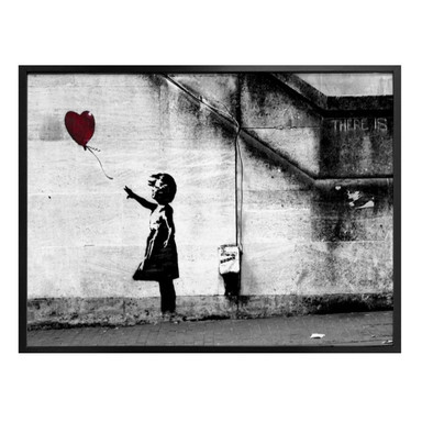 Poster Banksy - Girl with balloon