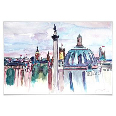 Poster Bleichner - London Skyline