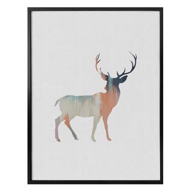 Poster Orara Studio - Pastel Deer