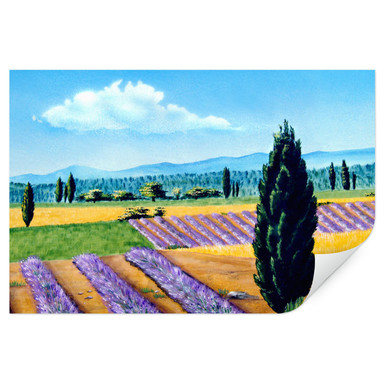 Wallprint Provence Malerei