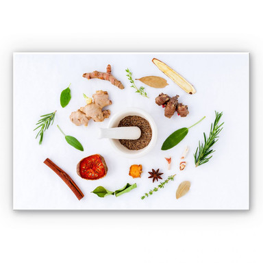 Wandbild Küchenkräuter