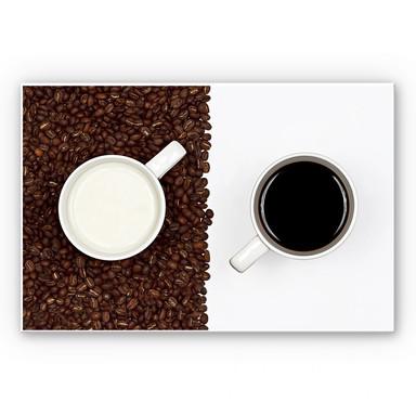 Wandbild Lavsen - White Espresso