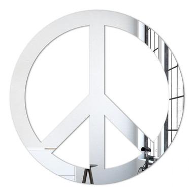 Wandspiegel Peace