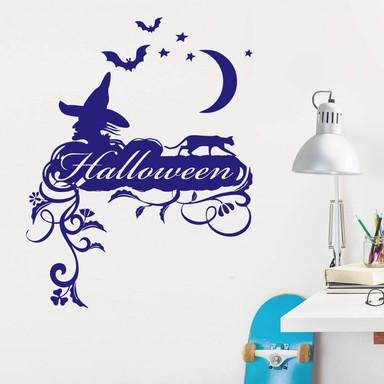Wandtattoo Halloweenschild