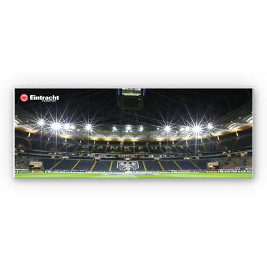 Hartschaumbild Eintracht Frankfurt Nacht - Panorama