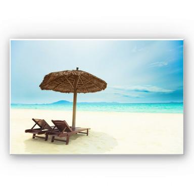 Hartschaumbild Holiday in Paradise