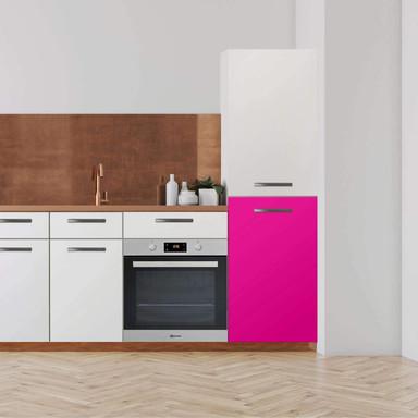 Klebefolie - Hochschrank (60x100cm) - Pink Dark- Bild 1