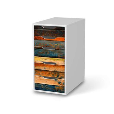 Klebefolie IKEA Alex 5 Schubladen - Wooden