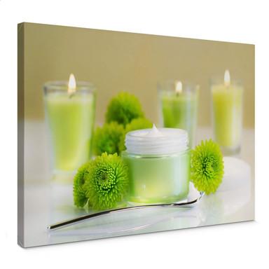 Leinwandbild Candle Lemon