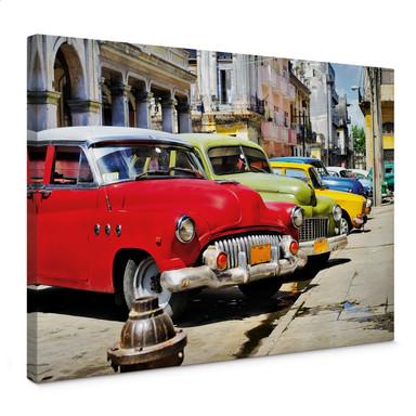 Leinwandbild Cuba Cars