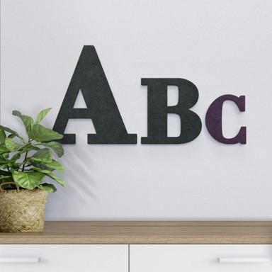 MDF-Holzbuchstaben zum Aufhängen - Bodoni