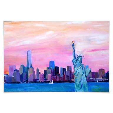 Poster Bleichner - Manhattan Skyline