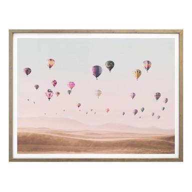 Poster Sisi & Seb - Heissluftballons