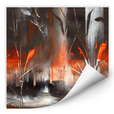 Wallprint Niksic - Feuer und Asche