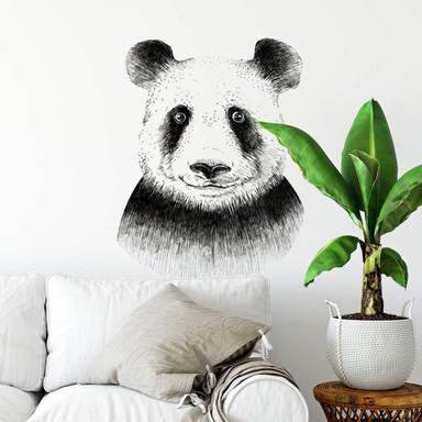 Wandtattoo Kvilis - Panda