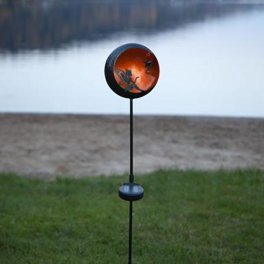 Dekorative LED Solar Leuchte Fairytale in Amber