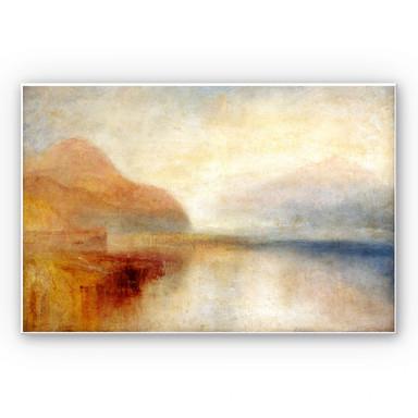 Hartschaumbild Turner - Monte Rosa