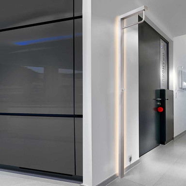 LED Garderobe Wall in Aluminium 11W 990lm