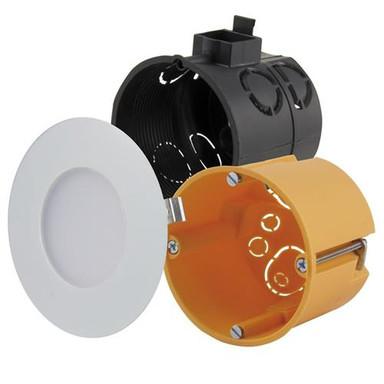 LED Panel weiss 2700K warmweiss 12 LED 2.2W inkl. Vorschaltgerät