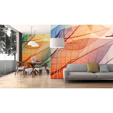 Livingwalls Fototapete Designwalls Limpid Leaf Natur