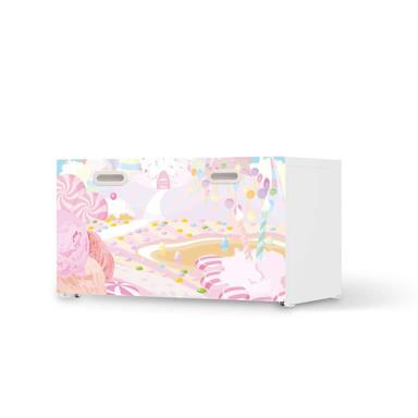 Möbelfolie IKEA Stuva / Fritids Bank mit Kasten - Candyland