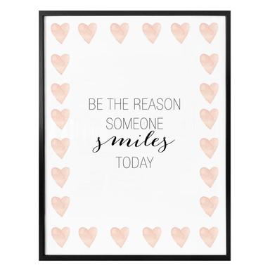 Poster Confetti & Cream - be the reason someone smiles