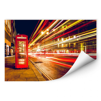 Wallprint London City Lights