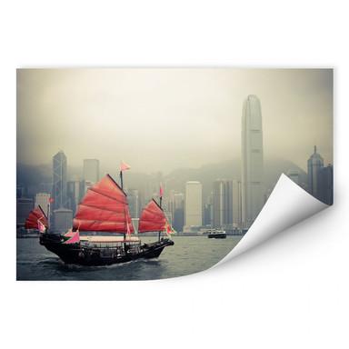 Wallprint Sailing in Hongkong