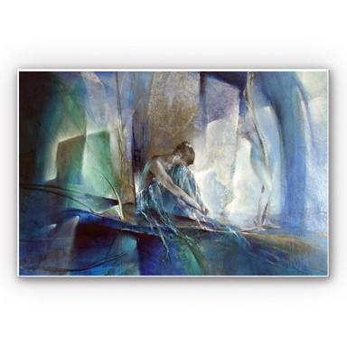 Wandbild Schmucker - Im blauen Raum