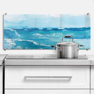 Küchenrückwand Toetzke - Meeresrausch - Panorama 02
