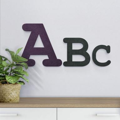 MDF-Holzbuchstaben zum Aufhängen - Courier