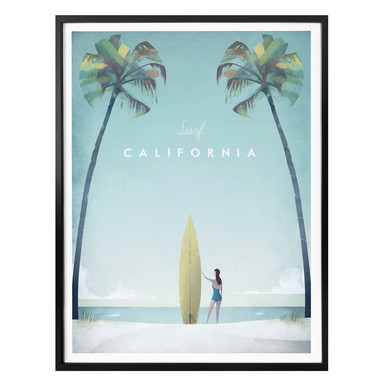 Poster Rivers - California