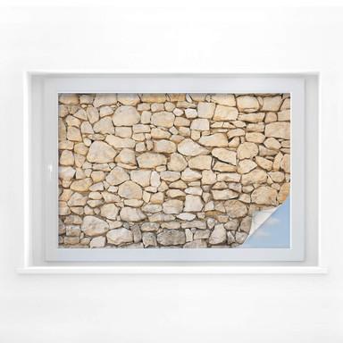 Sichtschutzfolie Mauer 01