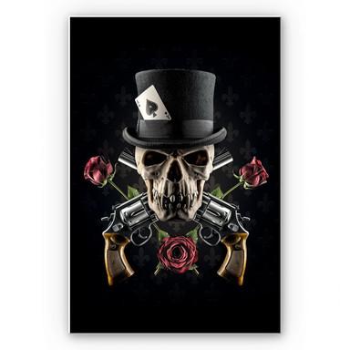 Wandbild Damstén - Guns and Roses
