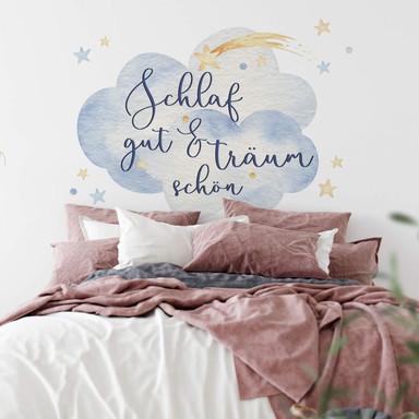 Wandtattoo Kvilis - Schlaf gut und träum schön